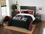 Buy Miami Marlins team bedding, Comforters, Drapes, and Sheets