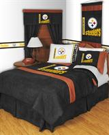 Buy Pittsburgh Steelers team bedding, Comforters, Drapes, and Sheets