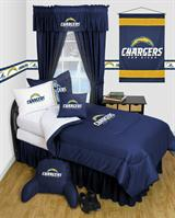 Buy Los Angeles Chargers team bedding, Comforters, Drapes, and Sheets