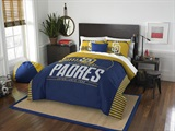 Buy San Diego Padres team bedding, Comforters, Drapes, and Sheets