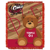 Buy Temple Owls team bedding, Comforters, Drapes, and Sheets