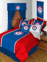 Buy Texas Rangers team bedding, Comforters, Drapes, and Sheets