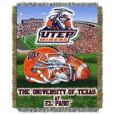 Buy El Paso (UTEP) Miners team bedding, Comforters, Drapes, and Sheets