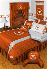 Buy Texas Longhorns team bedding, Comforters, Drapes, and Sheets