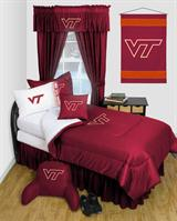 Buy Virginia Tech Hokies team bedding, Comforters, Drapes, and Sheets