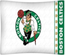 Boston Celtics Pillow