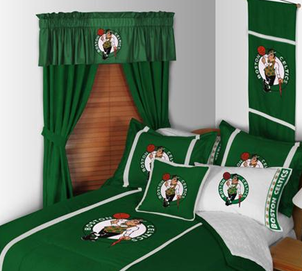 Boston Celtics Licensed Sports Bedding