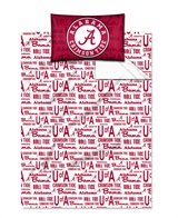 "Alabama Crimson Tide ""Anthem"" Twin Sheet Set"