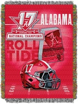 "Alabama Crimson Tide NCAA ""Elevate"" 2017 National Champions"" Woven Tap"