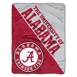 "Alabama Crimson Tide NCAA ""Halftone"" Micro Raschel Throw"