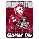 "Alabama Crimson Tide ""Overtime"" Micro Raschel Throw"