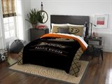 "Anaheim Ducks NHL ""Draft"" Full/Queen Comforter & Sham Set"