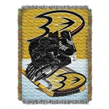 "Anaheim Ducks NHL ""Home Ice Advantage"" Woven Tapestry Throw"