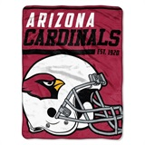 "Arizona Cardinals NFL ""40 yard Dash"" Micro Raschel Throw"