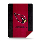 "Arizona Cardinals NFL ""Denali"" Sliver Knit Throw"