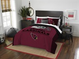"Arizona Cardinals NFL ""Draft"" Full/Queen Comforter Set"