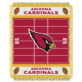 "Arizona Cardinals NFL ""Field"" Baby Woven Jacquard Throw"