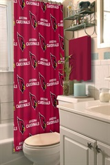 Arizona Cardinals NFL Shower Curtain