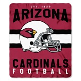 "Arizona Cardinals NFL ""Singular"" Fleece Throw"