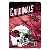 "Arizona Cardinals NFL ""Stagger"" Micro Raschel Throw"
