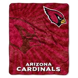 "Arizona Cardinals NFL ""Strobe"" Sherpa Throw"