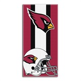 "Arizona Cardinals NFL ""Zone Read"" Beach Towel"
