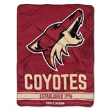 "Arizona Coyotes NHL ""Breakaway"" Micro Raschel Throw"