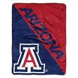 "Arizona Wildcats NCAA ""Halftone"" Micro Raschel Throw"
