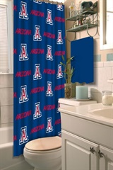 Arizona Wildcats NCAA Shower Curtain