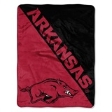 "Arkansas Razorbacks NCAA ""Halftone"" Micro Raschel Throw"