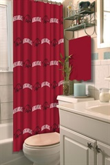 Arkansas Razorbacks NCAA Shower Curtain