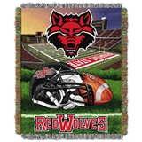 "Arkansas State Red Wolves NCAA ""Home Field Advantage"" Woven Tapestry T"