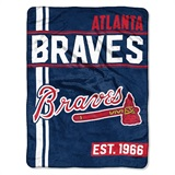 "Atlanta Braves MLB ""Walk Off"" Micro Raschel Throw"