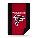 "Atlanta Falcons NFL ""Denali"" Sliver Knit Throw"