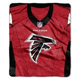 "Atlanta Falcons NFL ""Jersey"" Raschel Throw"