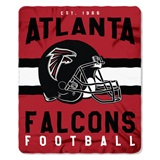 "Atlanta Falcons NFL ""Singular"" Fleece Throw"
