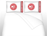 Atlanta Hawks  Micro Fiber Sheet Set Queen
