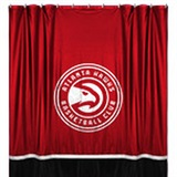 Atlanta Hawks  Sidelines Shower Curtain