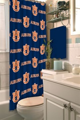 Auburn Tigers NCAA Shower Curtain