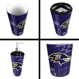 Baltimore Ravens  NFL 4 piece Bath Set