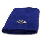 Baltimore Ravens NFL Applique Bath Towel