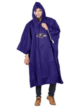 Baltimore Ravens NFL Deluxe Poncho
