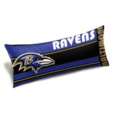 "Baltimore Ravens NFL ""Seal"" Body Pillow"