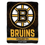 "Boston Bruins NHL ""Breakaway"" Micro Throw"