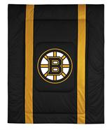 Boston Bruins Sidelines Comforter