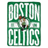 "Boston Celtics NBA ""Clear Out"" Micro Raschel Throw"