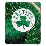 "Boston Celtics  NBA ""Reflect"" Sherpa Throw"