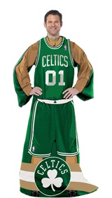 "Boston Celtics NBA ""Uniform"" Comfy Throw"