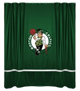 Boston Celtics Sidelines Shower Curtain