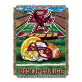 "Boston College Eagles NCAA ""Home Field Advantage"" Woven Tapestry Throw"
